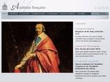 Le site de l'Académie française